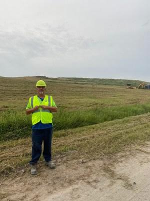 Keith Dunn, 2020 Landfill Operator of the Year