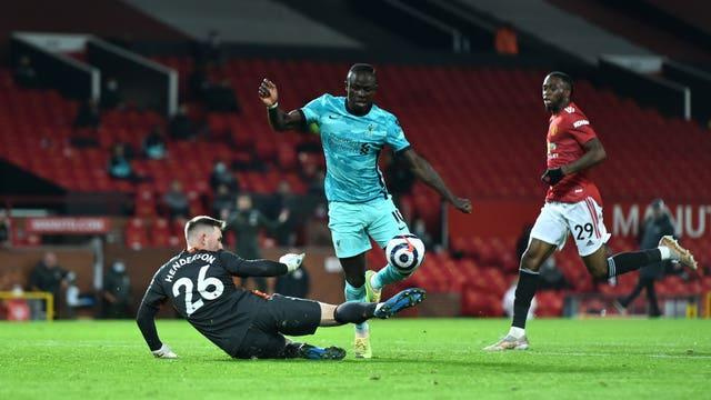 Sadio Mane in action for Liverpool