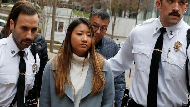 PHOTO: Inyoung You arrives at Suffolk Superior Court in Boston, Friday, Nov. 22, 2019. (Michael Dwyer/AP)