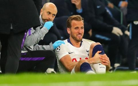 <span>Harry Kane is hoping to be fit for the Champions League final and England duty</span> <span>Credit: getty images </span>