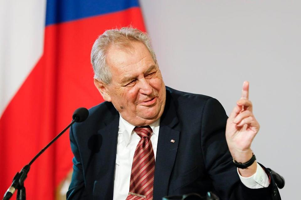 Czech President (Copyright 2021 The Associated Press. All rights reserved)