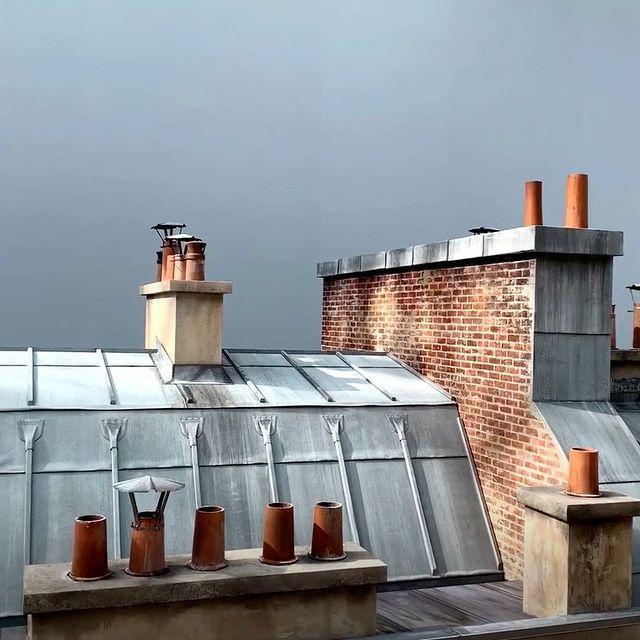 """<p>Virginie Viard recreated the rooftops of Paris in the Grand Palais for Chanel's SS20 show. Featuring chimneys and brick work, the set is slightly more laid-back than Karl Lagerfield's previous creations.</p><p><a href=""""https://www.instagram.com/p/B3EWVAWoxPV/"""" rel=""""nofollow noopener"""" target=""""_blank"""" data-ylk=""""slk:See the original post on Instagram"""" class=""""link rapid-noclick-resp"""">See the original post on Instagram</a></p>"""