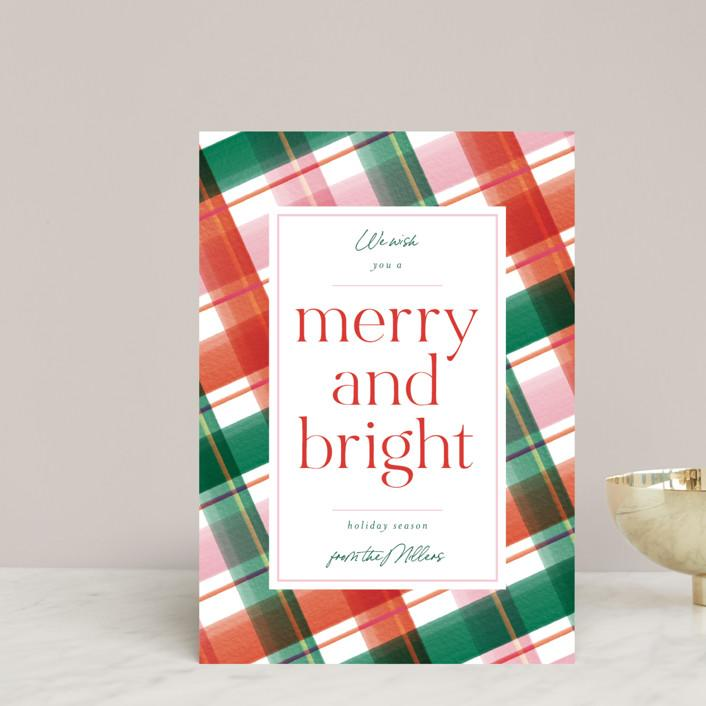 Order or customize your own holiday cards from Minted.