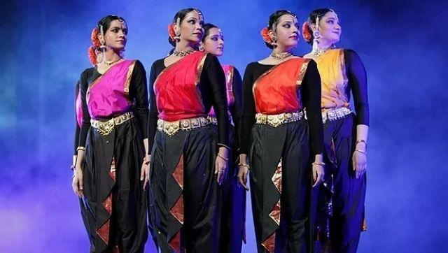 Costumes designed by Raman for a performance entitled Seasons.