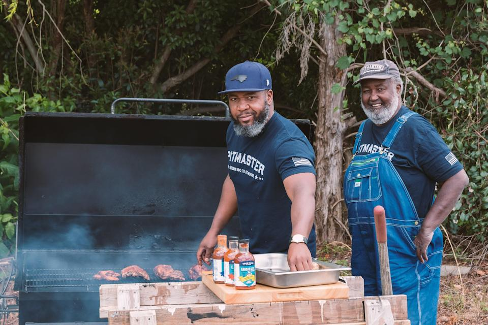 Ed and Ryan Mitchell of Pitmaster barbecue sauce