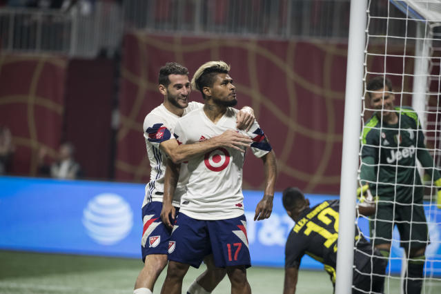 Josef Martinez and the MLS All-Stars played Italian champion Juventus to a 1-1 tie in August. (Ira L. Black/Getty)