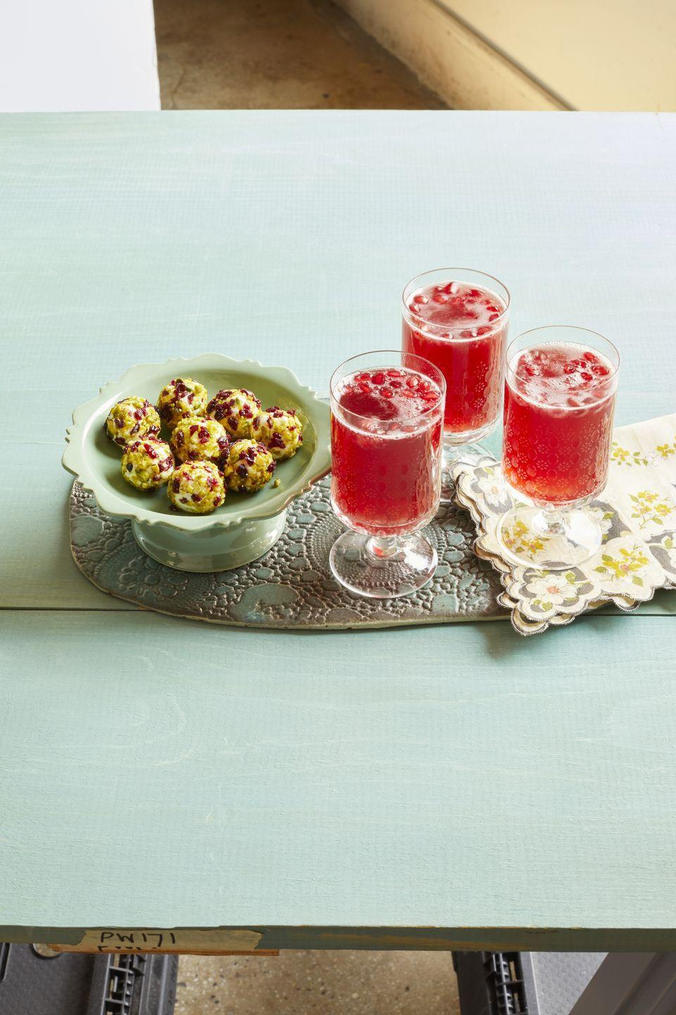 """<p>Elevate a glass of sparkling white wine with pomegranate seeds and pomegranate juice. It's what your <a href=""""https://www.thepioneerwoman.com/food-cooking/meals-menus/g33577310/thanksgiving-menu/"""" rel=""""nofollow noopener"""" target=""""_blank"""" data-ylk=""""slk:Thanksgiving menu"""" class=""""link rapid-noclick-resp"""">Thanksgiving menu </a>needs! </p><p><strong><a href=""""https://www.thepioneerwoman.com/food-cooking/recipes/a32304789/pomegranate-sparklers-recipe/"""" rel=""""nofollow noopener"""" target=""""_blank"""" data-ylk=""""slk:Get the recipe."""" class=""""link rapid-noclick-resp"""">Get the recipe.</a></strong></p><p><a class=""""link rapid-noclick-resp"""" href=""""https://go.redirectingat.com?id=74968X1596630&url=https%3A%2F%2Fwww.walmart.com%2Fbrowse%2Fhome%2Fcocktail-liquor-glasses%2F4044_623679_639999_6972768_1254708&sref=https%3A%2F%2Fwww.thepioneerwoman.com%2Ffood-cooking%2Fmeals-menus%2Fg33510531%2Ffall-cocktail-recipes%2F"""" rel=""""nofollow noopener"""" target=""""_blank"""" data-ylk=""""slk:SHOP COCKTAIL GLASSES"""">SHOP COCKTAIL GLASSES</a> </p>"""