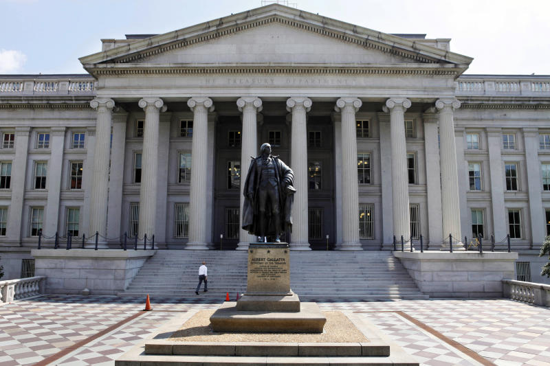 Foreign holdings of US debt hit $5.46 trillion