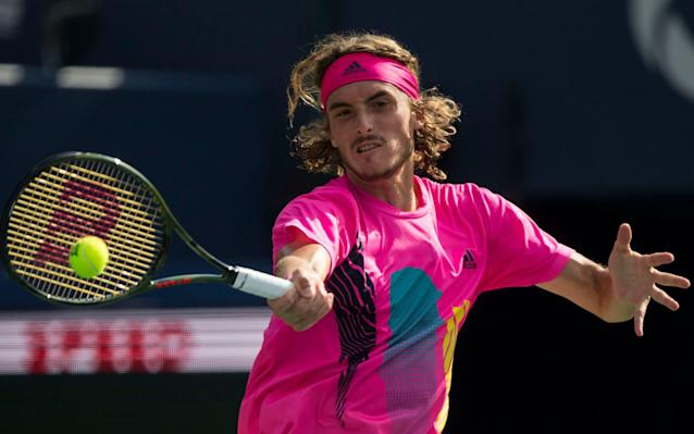 Tsitsipas became the youngest male player in history to beat four Top 10 players in a row - Xinhua / Barcroft Media