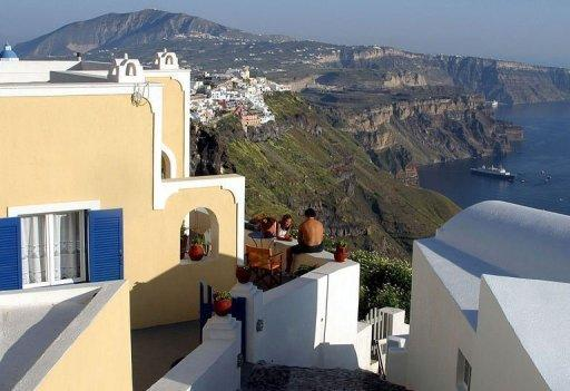Santorini was voted the world's best island by Travel + Leisure magazine in 2011