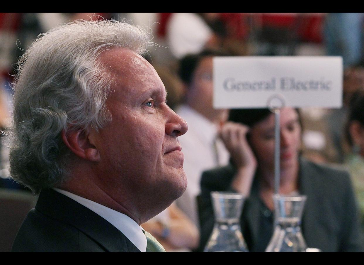 GE CEO Jeff Immelt was paid $15.2 million last year, as his company reported a $3.3 billion federal tax refund on $5.1 billion in pretax U.S. profits. Obama named Immelt to Chair his Council on Jobs and Competitiveness in 2011.