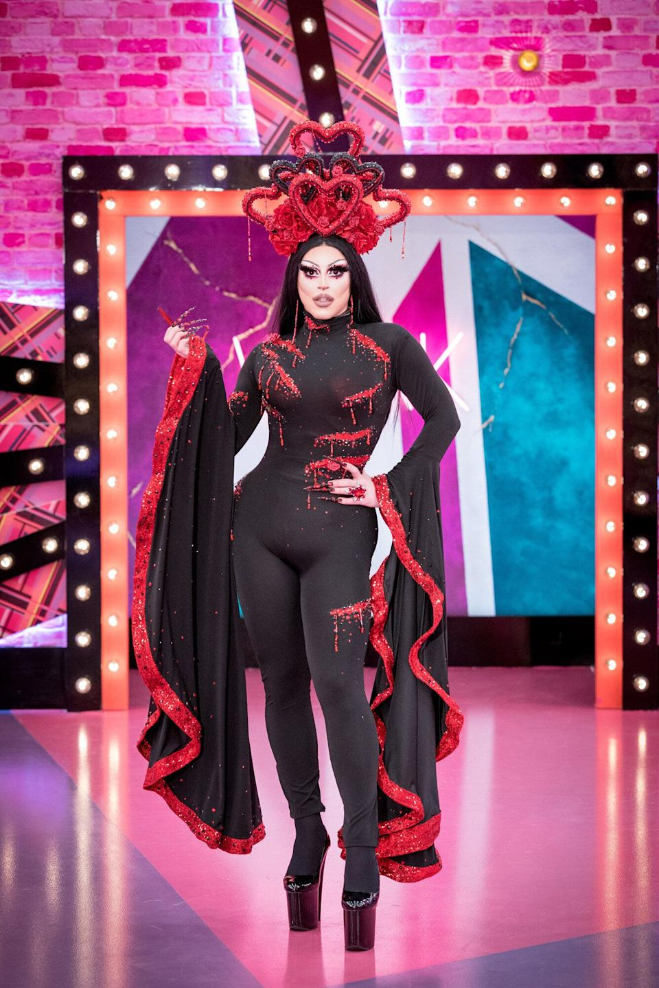 Cherry certainly made an impression with her Drag Race entrance (Photo: BBC/World of Wonder/Guy Levy)