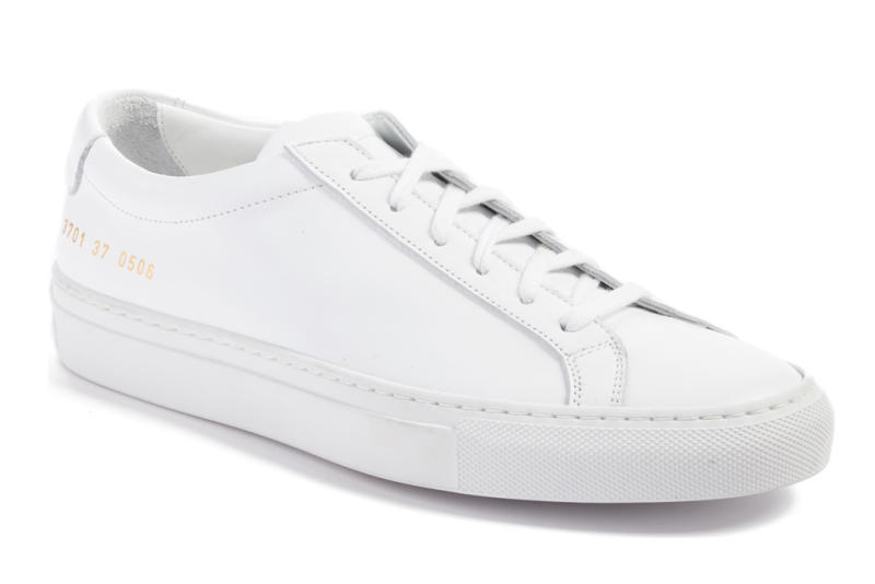common projects, original achilles sneaker, all white