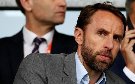 Soccer Football - UEFA European Under-17 Championship Semi-Final - England vs Netherlands - Proact Stadium, Chesterfield, Britain - May 17, 2018 England manager Gareth Southgate in the stands Action Images via Reuters/Carl Recine