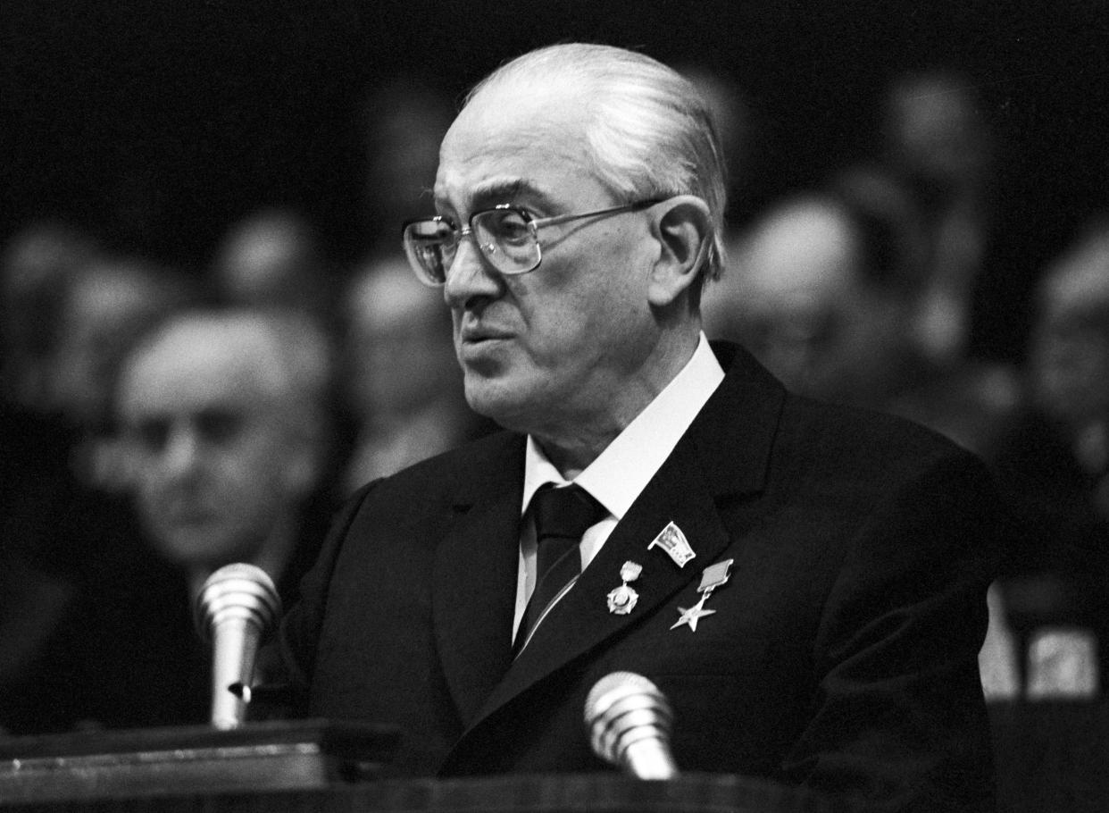 Yuri Andropov, Soviet politician and general secretary of the Communist Party of the Soviet Union (Photo: TASS/ Getty Images)
