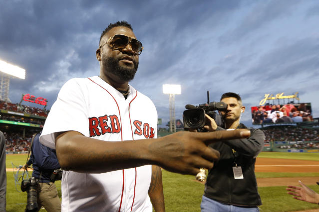 Just four months ago, David Ortiz was in a Dominican hospital with a gunshot wound. (Reuters)
