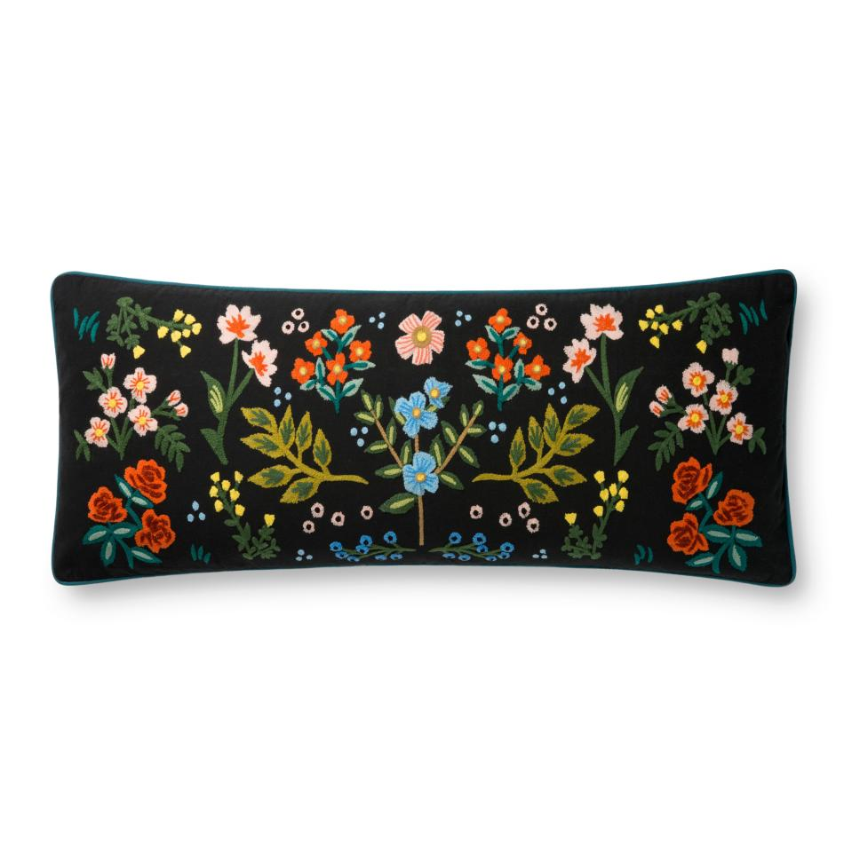 rifle wildwood embroidered pillow