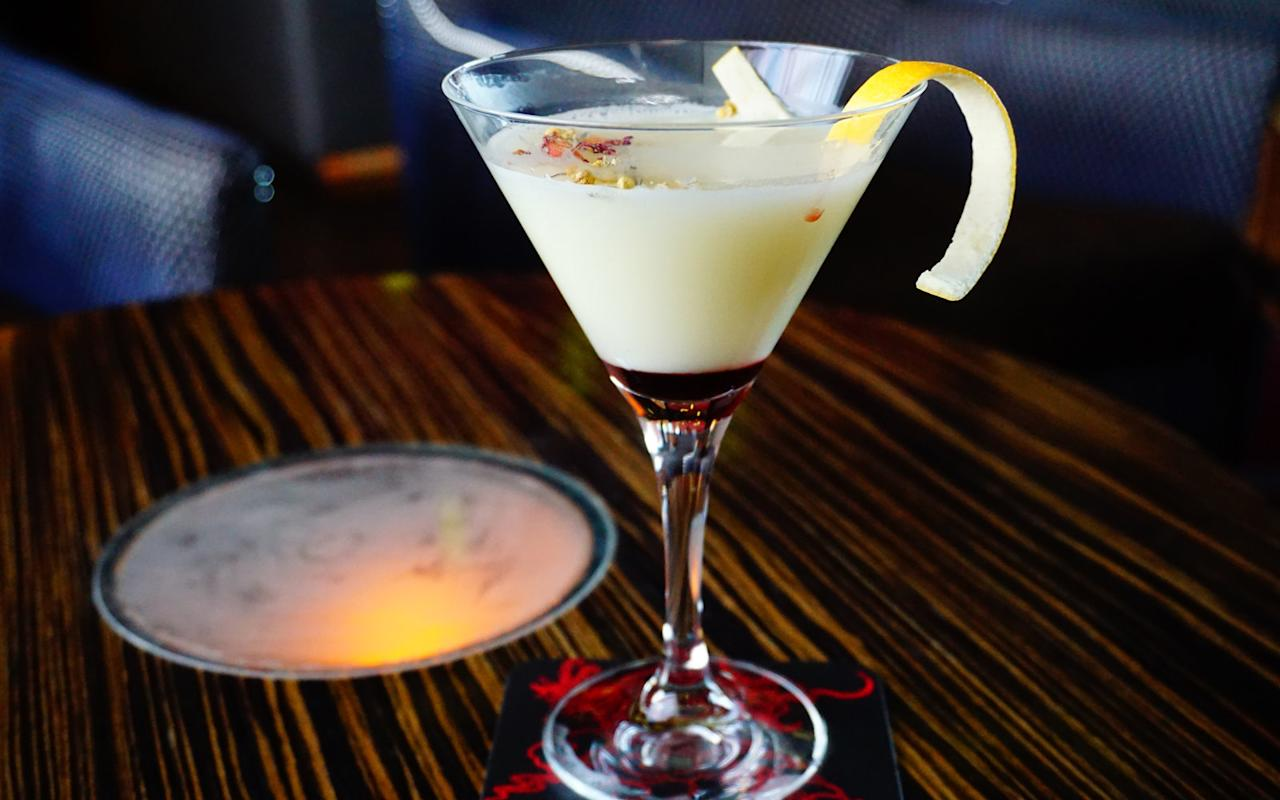 """<p><em>""""Aries, as the first astrological sign, desires to lead the way for others. The essence of this cocktail is led by a velvety texture and subtle bitterness with a bold finish.""""</em></p>  <p><strong>Ingredients</strong></p>  <p>1 oz Leopold's Navy strength gin</p>  <p>1/2 oz Green Chartreuse?</p>  <p>1/2 oz Luxardo Cherry Liqueur?</p>  <p>3/4 oz sage & honey syrup</p>  <p>3/4 oz lemon juice?</p>  <p>Egg whites?</p>  <p>Dash of Bittercube Bolivar Bitters?</p>  <p>Lemon twist to garnish</p>  <p>Loose leaf tea (preferably rose petal or chamomile buds) for garnish</p>  <p><strong>How-To</strong></p>  <p>Combine all ingredients in a glass</p>  <p>Garnish with lemon twist and loose leaf tea (rose petals and chamomile buds)</p>"""