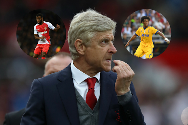 Arsenal dilemma: Thomas Lemar or Juan Cuadrado for Arsene Wenger?
