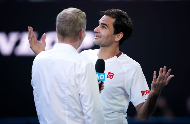 Federer fined $3,000 for swearing at Australian Open