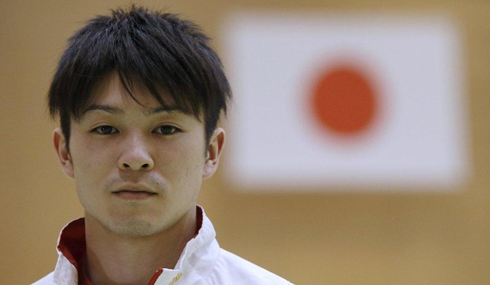 Kohei Uchimura is sacrificing the all-around competition to focus on gold in the horizontal bars. Photo: Reuters