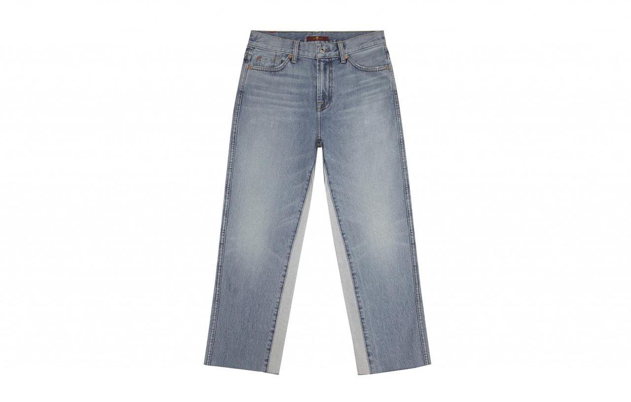 "<p>Cool Californian denim brand 7 For All Mankind is now easily available to buy in the UK. Their new vintage line includes distressed patches and raw detailing. Our favourite has to be the cropped Kiki style.<br /><a rel=""nofollow"" href=""http://www.7forallmankind.co.uk/en_en/women/what-s-hot/vintage-wythe.html""><em>7 For All Mankind, from £180</em></a> </p>"
