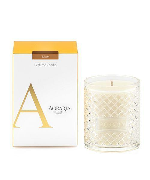 """<p><strong>Agraria San Francisco</strong></p><p>amazon.com</p><p><strong>$24.99</strong></p><p><a href=""""https://www.amazon.com/dp/B01MAW8SMT?tag=syn-yahoo-20&ascsubtag=%5Bartid%7C10050.g.2655%5Bsrc%7Cyahoo-us"""" rel=""""nofollow noopener"""" target=""""_blank"""" data-ylk=""""slk:Shop Now"""" class=""""link rapid-noclick-resp"""">Shop Now</a></p><p>This gift-worthy selection from Agraria Home will have you ready for cooler weather with its notes of balsam and California redwood.</p>"""