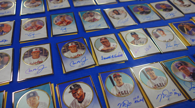 The 2016 Topps Transcendent Collection will set you back a pretty penny. (Topps.com)