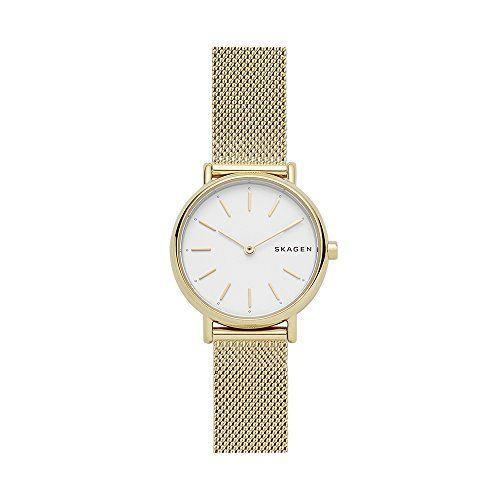 "<p><strong>Skagen</strong></p><p>amazon.com</p><p><strong>$61.95</strong></p><p><a href=""https://www.amazon.com/dp/B077SLFNVR?tag=syn-yahoo-20&ascsubtag=%5Bartid%7C10054.g.35842602%5Bsrc%7Cyahoo-us"" rel=""nofollow noopener"" target=""_blank"" data-ylk=""slk:Buy"" class=""link rapid-noclick-resp"">Buy</a></p><p>Sleek, chic and refined, this understated timepiece will go with just about everything in her closet.</p>"