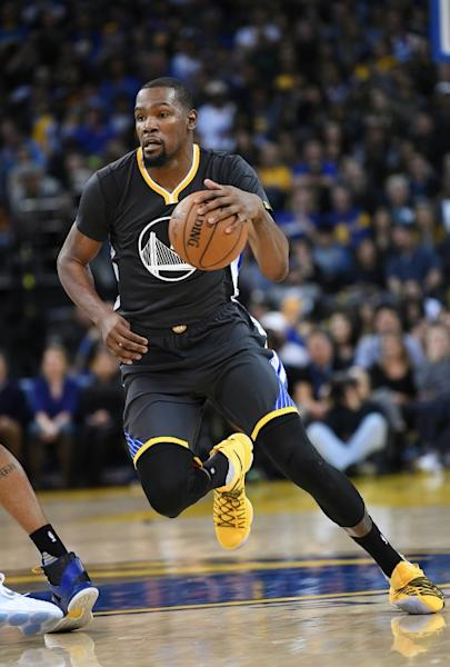 Kevin Durant of the Golden State Warriors has returned to form and fitness following his extended injury lay-off