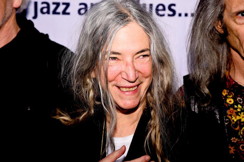 Is Patti Smith about to become the face of Saint Laurent? [Photo: Getty]
