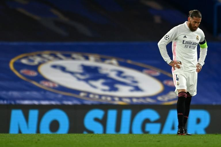 Sergio Ramos returned from injury but could not inspire Real against Chelsea