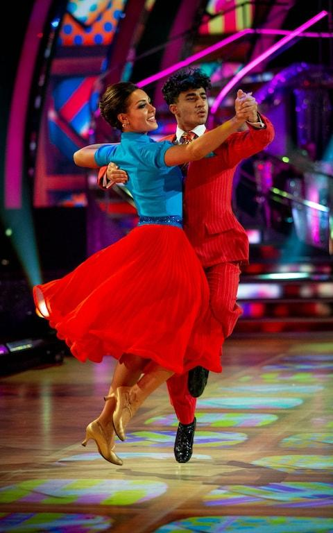 Karim and Amy's quickstep