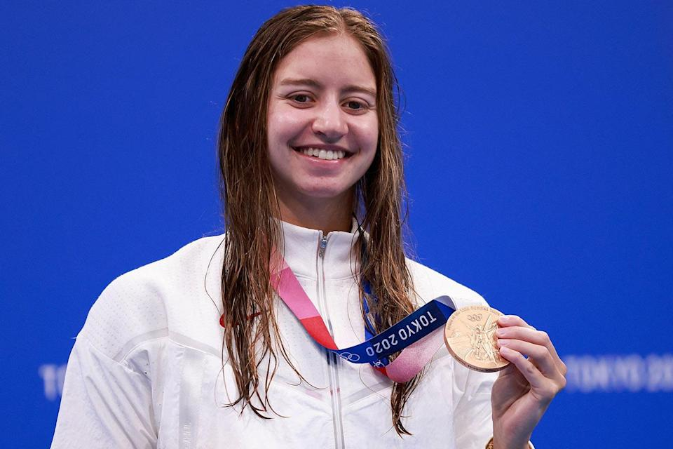 """<p>Biography: 19 years old</p> <p>Event: Women's 200m individual medley (swimming)</p> <p>Quote: """"It's just so exciting to see all of our friends come together and be just so excited for [Alex Walsh and me]. I just love it, it's a great feeling.""""</p>"""