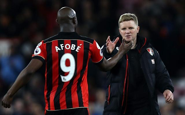 Afobe sealed the points against Swansea with two crucial strikes - 2017 Getty Images