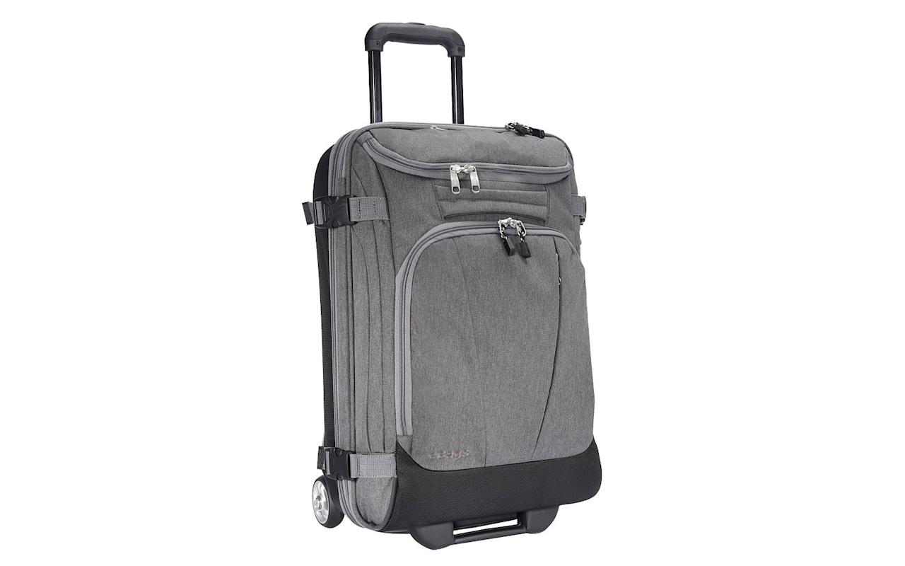 """<p>See the deals at <a href=""""http://ebags.evyy.net/c/249354/207595/3588?subId1=TL%2CTheBestLuggageDealsforCyberMonday%2Cszypulsr%2CTRA%2CGAL%2C727366%2C201912%2CI&u=https%3A%2F%2Fwww.ebags.com%2Fcategory%2Fluggage%2Fsp%2Fdeals%3Fsort%3Dfeaturedproduct"""" target=""""_blank"""">ebags.com</a> and use the code 'CYBER.'</p>"""