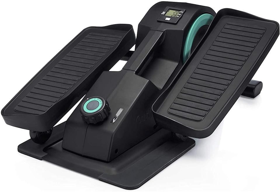 <p>Get in a workout while working from home with the <span>Cubii JR1 Seated Under Desk Elliptical Machine </span> ($249). You can adjust the resistance, and it's quiet.</p>