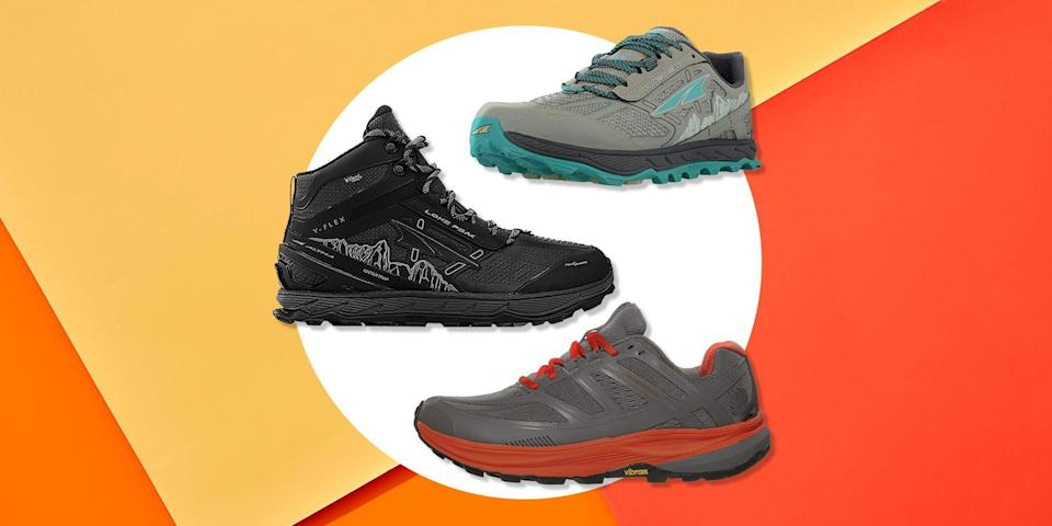 """<p>Come winter, running outside is like navigating a DIY obstacle course full of frozen sidewalks, slush puddles, and snow drifts. </p><p>If you want to prevent your feet from freezing solid, it's all about choosing the right pair of winter running shoes. """"When you know you'll be running through rain, ice, snow, puddles, you want a shoe that's more protective,"""" says Jess Movold, a running coach at <a href=""""https://milehighrunclub.com/"""" rel=""""nofollow noopener"""" target=""""_blank"""" data-ylk=""""slk:Mile High Run Club"""" class=""""link rapid-noclick-resp"""">Mile High Run Club</a> in New York City. </p><p>Certified running coach at <a href=""""https://www.runcoach.org/about"""" rel=""""nofollow noopener"""" target=""""_blank"""" data-ylk=""""slk:Skyline Run Coaching"""" class=""""link rapid-noclick-resp"""">Skyline Run Coaching</a> <a href=""""https://www.runcoach.org/"""" rel=""""nofollow noopener"""" target=""""_blank"""" data-ylk=""""slk:Lynsey Romano"""" class=""""link rapid-noclick-resp"""">Lynsey Romano</a> says the right pair of shoes can also make your experience a lot more pleasant. """"Getting better traction on ice or loose snow or slush can make a difference between an enjoyable winter run or a potentially frustrating experience.""""</p><p>The first step to find a good pair of winter running shoes is to figure out what kind of terrain you'll be running. If you're running in a more urban environment, then you can expect heavy foot and car traffic, which means lots of sloshy snow or wet pavements where the snow has already melted. </p><p>But if your runs are taking you to the trails or mountains, you can expect your terrain to be a little more rugged. After all, less people are frequenting the area and snow trucks aren't exactly driving up there to clear a path. Running off road in winter, you're likely to come across deep banks of snow. </p><p>Another thing you want to consider? Whether you'll be running on ice. Tackling frozen conditions requires soles that will give you enough grip to keep from accidentally falling. </p><p>So, when shop"""