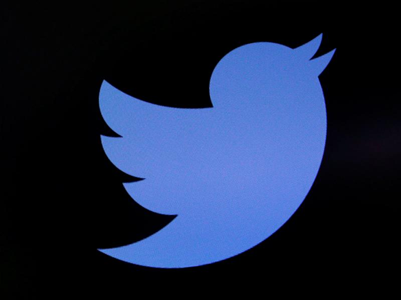 The Twitter logo as seen above the floor of the New York Stock Exchange: REUTERS/Lucas Jackson