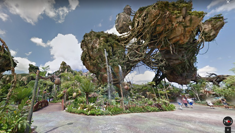 You can visit Disneyland on Google Maps Street View now — Dole Whip Cannot See Street View In Google Maps on