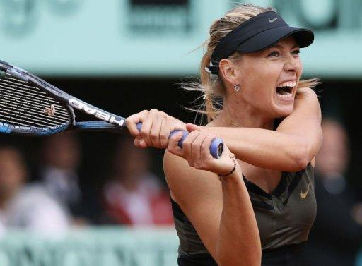 Sharapova won her first Grand Slam title in 2004 by beating Serena Williams at Wimbledon