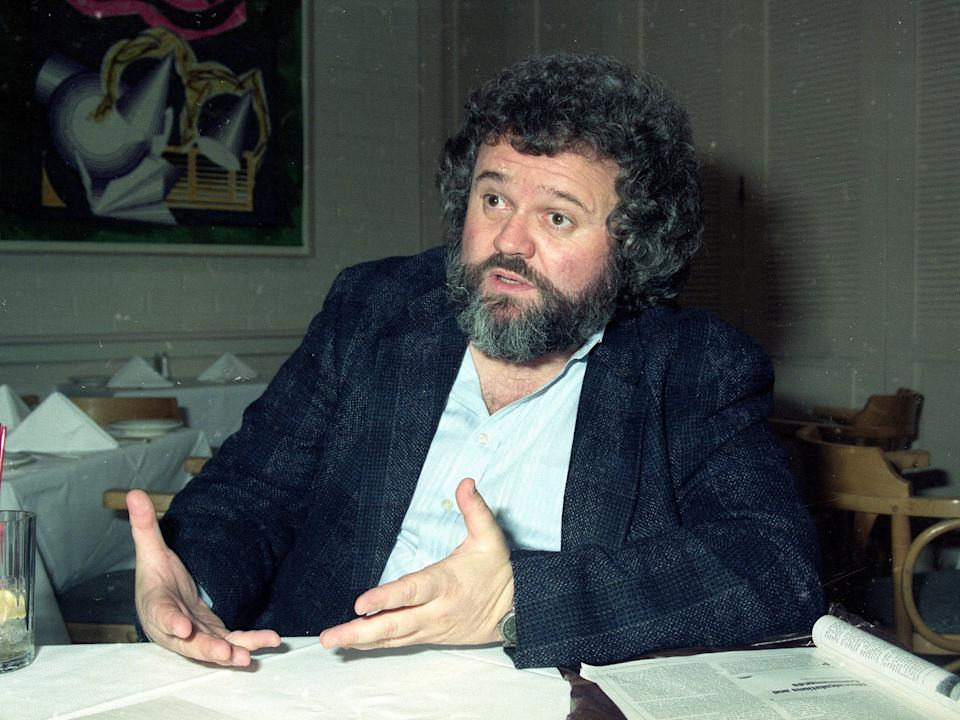 Allen Daviau was 77 years old when he died. This photo was taken in 1990.