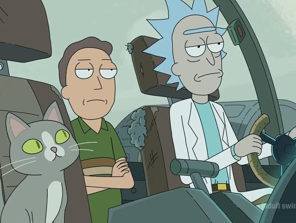 <p>More 'Rick and Morty' episodes are coming to Netflix</p>Adult Swim