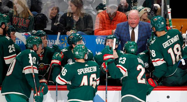 Bruce Boudreau might not necessarily expect to be around much longer. (Getty)