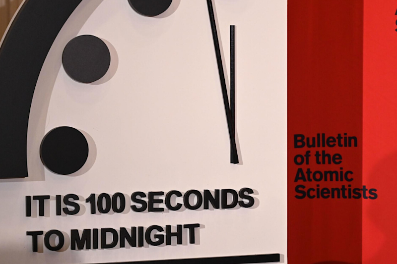 'Doomsday Clock' Is Now the Closest to Midnight It Has Ever Been Since Its Creation
