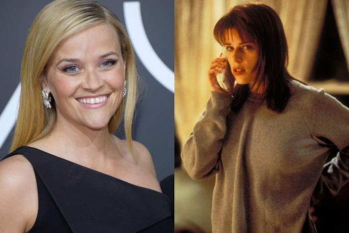 """<p>Early in the movie's development, Drew Barrymore was set to play Sidney, but she changed her mind and wanted to play Casey, who is famously killed off in the movie's first few minutes. A casting hunt led to an offer for Reese Witherspoon, <a href=""""http://www.telegraph.co.uk/films/2016/12/22/scream-20-wes-craven-kevin-williamson-tore-slasher-filmapart/"""" rel=""""nofollow noopener"""" target=""""_blank"""" data-ylk=""""slk:who turned it down"""" class=""""link rapid-noclick-resp"""">who turned it down</a>, paving the way for<em> Party of Five</em> star Neve Campbell to swoop in.</p>"""