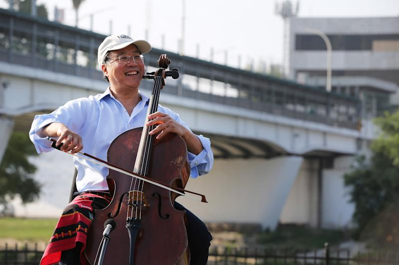 Yo-Yo Ma Blasts Trump at Concert on Mexican Border: 'A Country Is Not a Hotel, and It's Not Full'