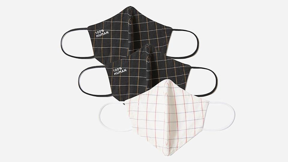 These Everlane facial coverings would be a great addition to your collection.