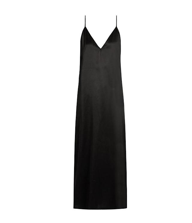 "<p>V-neck silk-satin midi slipdress, $187, <a href=""http://www.matchesfashion.com/us/products/1087288?country=USA&qxjkl=tsid:57534&utm_source=polyvore&utm_medium=affiliation&utm_campaign=us&utm_term=dresses"" rel=""nofollow noopener"" target=""_blank"" data-ylk=""slk:matchesfashion.com"" class=""link rapid-noclick-resp"">matchesfashion.com</a> </p>"