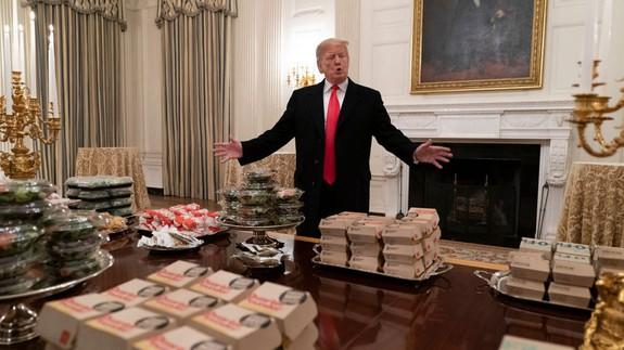 Donald Trump's 'hamberders' typo savagely roasted by Burger King